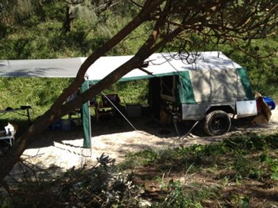 Camper set up