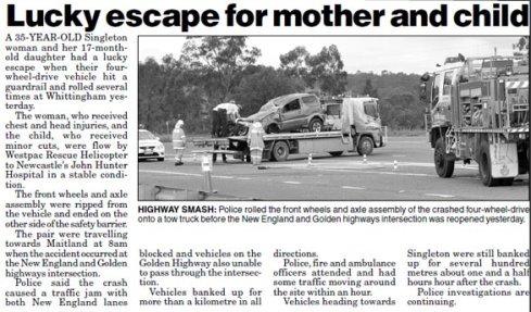 car collision articles