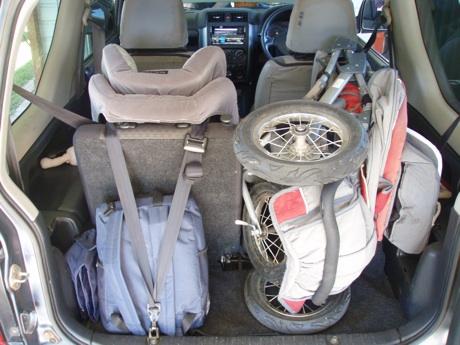 Can The Suzuki Jimny Fit A Pram