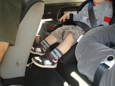 Child Booster Seats in the Suzuki Jimny
