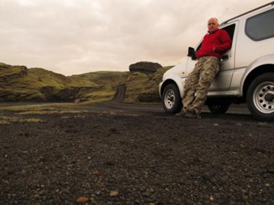 Hiring our Jimny in Iceland